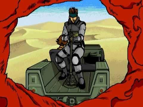 GIF Metal Gear Solid Lupin III Style メタルギアソリッドでルパン三世OP