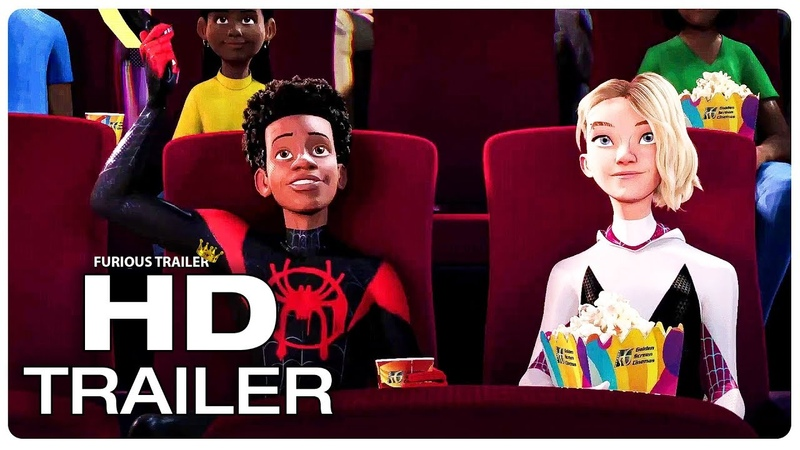 SPIDER-MAN INTO THE SPIDER-VERSE Miles And Gwen Date Night Trailer (NEW 2018) Superhero Movie HD