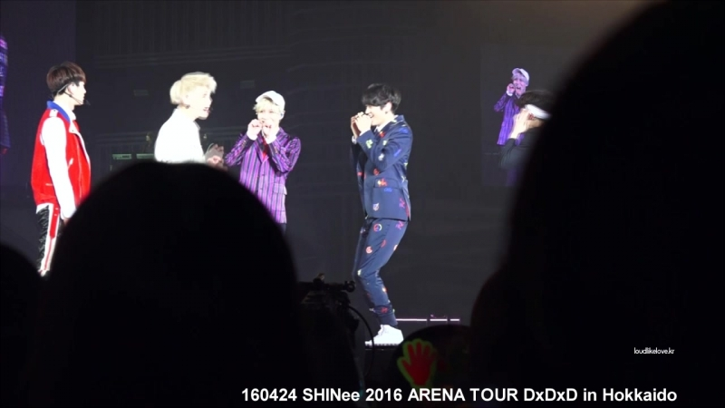 160424 SHINee 2016 ARENA TOUR in Hokkaido 중간MENT (한글자막)