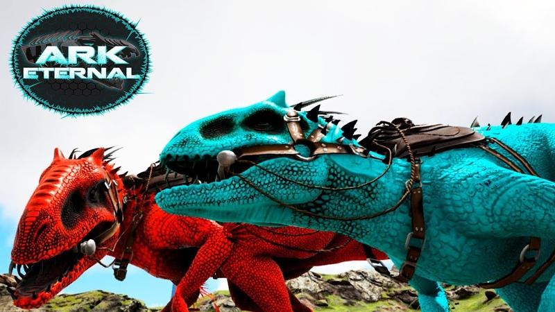 Два ИНДОМИНУСА Альфа и Прайм - ARK Survival Eternal 23