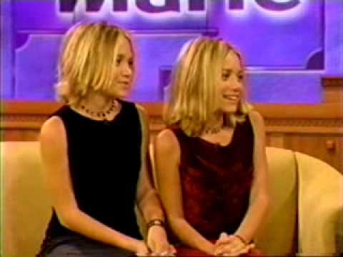 Mary-Kate and Ashley Olsen at Donny and Marie Oktober 1999 Part 1