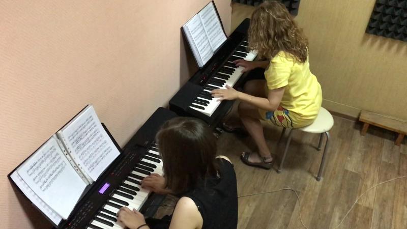 Дарья Луткова и Анна Каткова «Танго из к/ф «Запах женщины»