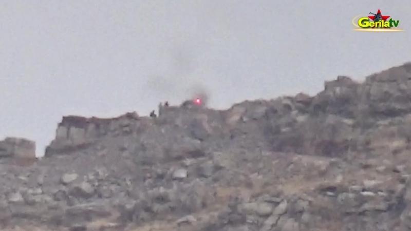 Удар партизан РПК по позициям оккупантов, 9 октября 2018 года
