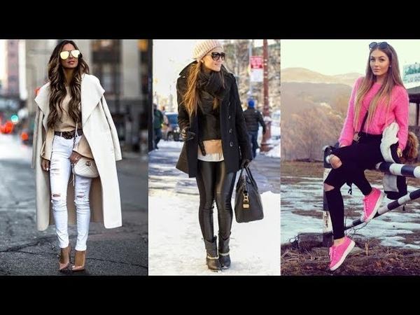 MODA OTOÑO INVIERNO 2019 Combinaciones de ropa otoño invierno para mujer