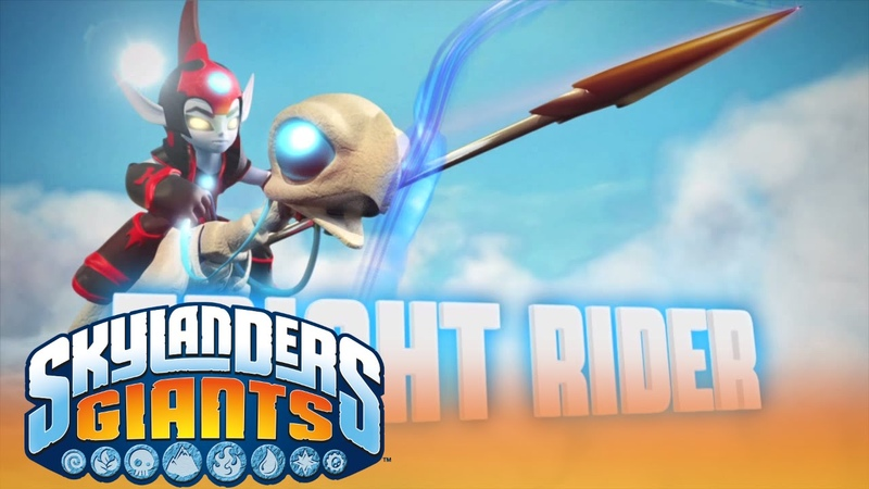 Meet the Skylanders Fright Rider