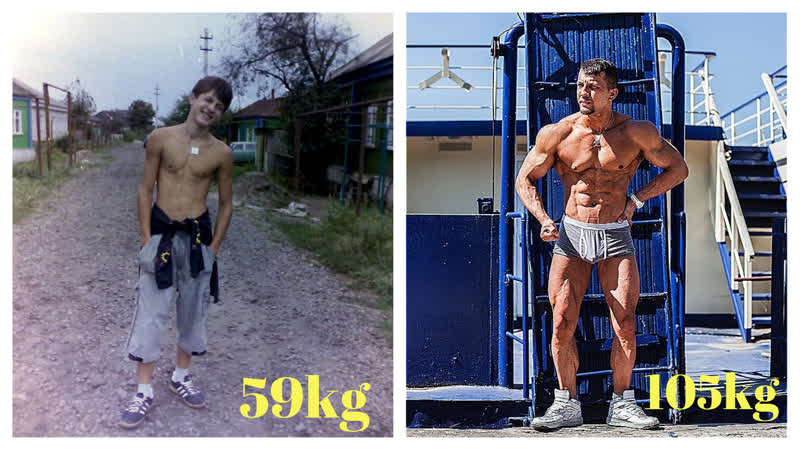 10 year challenge - (before and after) - Dmitry Chaplin