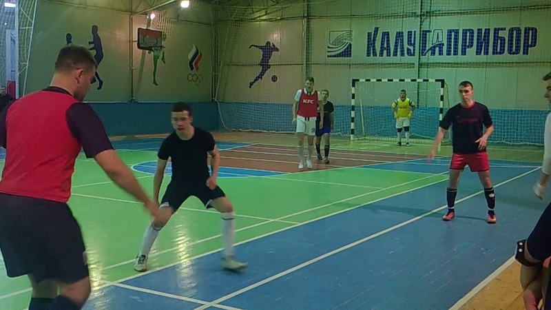 ФК «Костолом» - ФК «Грабцево» - 1 тайм