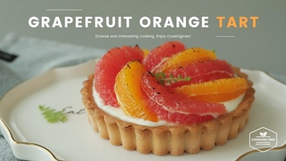 ( https://vk.com/lakomkavk) Grapefruit Orange Rare Cheese Tart Recipe - Cooking tree ASMR