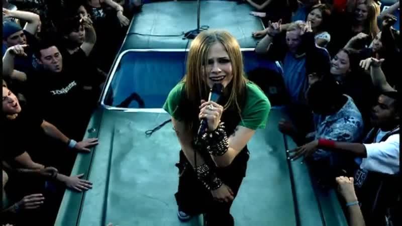 Avril Lavigne - Sk8er boy   2002 год   клип [Official Video] HD