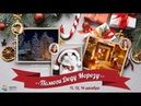 Новогодний флешмоб Помоги Деду Морозу Пишем картину маслом Надежда Ильина