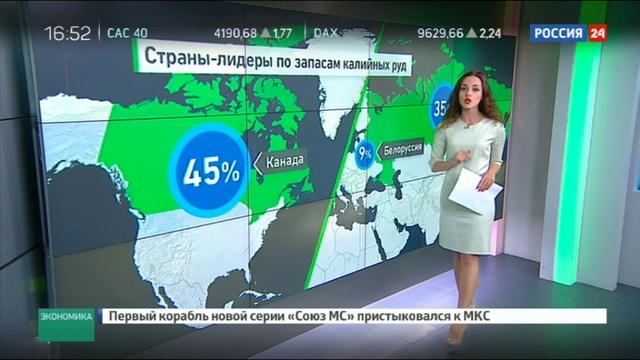 Новости на Россия 24 • Прохоров продал долю в Уралкалии: кому, за сколько и почему сейчас?