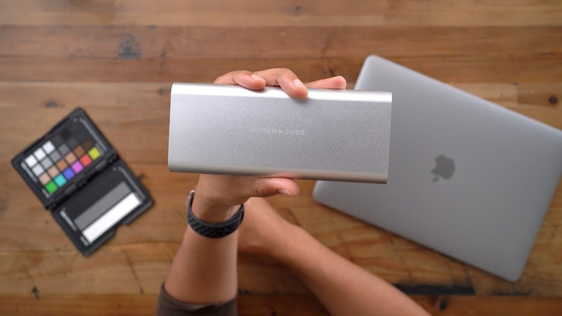 HyperJuice - The worlds most powerful USB-C battery pack! [Sponsored]