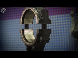 Восстановление двигателя от Жигули Таймлапс