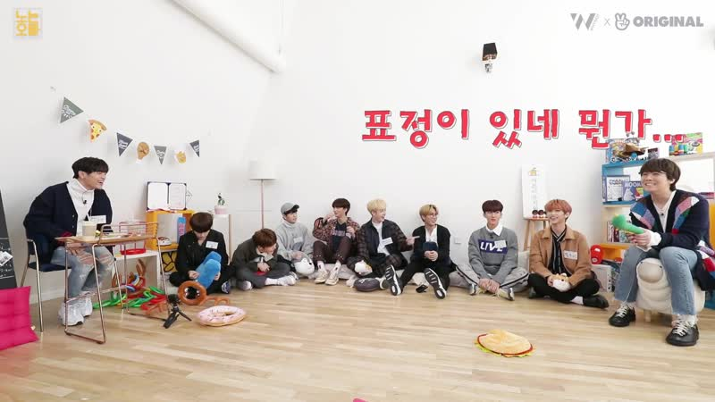 190123 Stray Kids на шоу Playing Brother