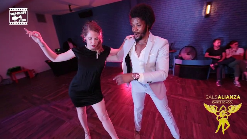Terry SalAlianza Kai - social dancing @ SalsAlianza Dance School