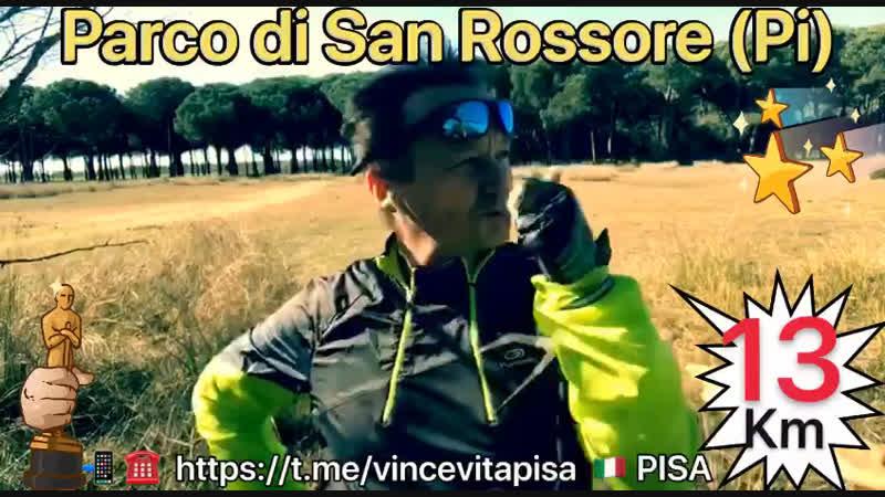 23.02.2019 Nel Parco di San Rossore 13 km di corsa 🏃♂️ Vincenzo Vitali