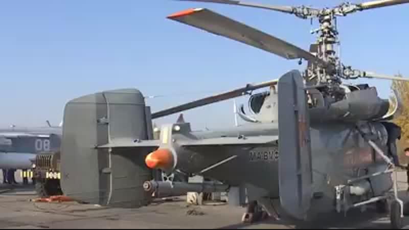 Летчики из Калининградской области опробовали модернизированные противолодочные вертолеты Ка 27М