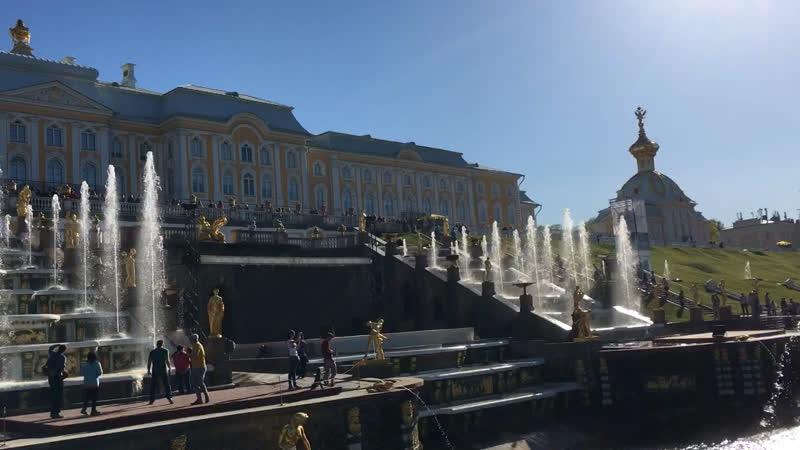 Петергоф, Санкт-Петербург.