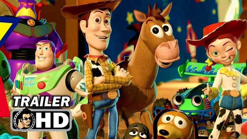 TOY STORY 4 Official Trailer (2019) Tom Hanks Pixar Movie