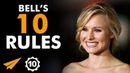 Don't CARE About FAILURES! - Kristen Bell (@IMKristenBell) - Top 10 Rules