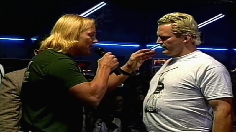 Steve Austin Confronts The Sandman ECW 9/23/1995