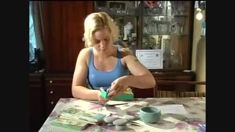 2006-й год. Юная Валентина Шевченко в программе местного телевидения.