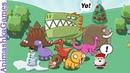 КРЕЙЗИ ДИНОПАРК В Парке Динозавров Новый Год ИГРА Создаю Динозавров Crazy Dino Park