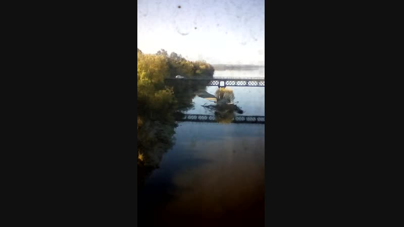 Восточный БАМ мост через реку Бурея 25.09.2018г