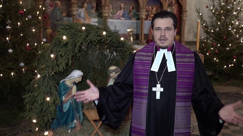 С Рождеством Архиепископ ЕЛЦР Дитрих Брауэр
