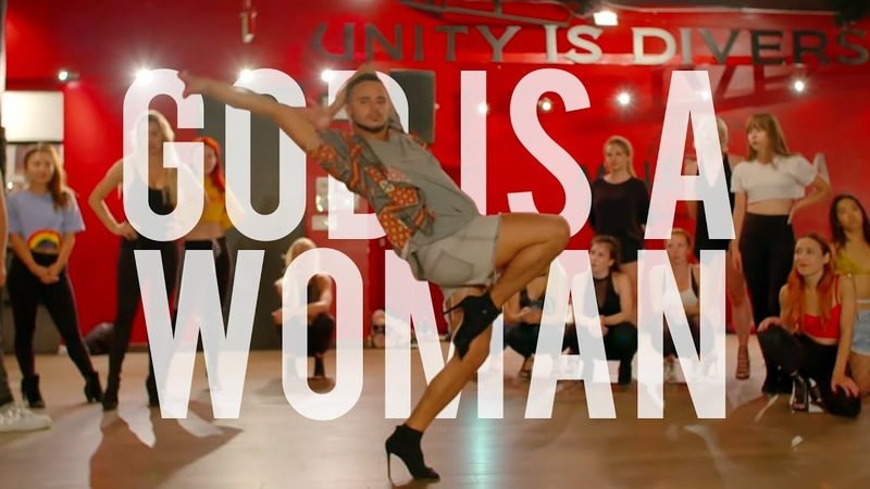 YANIS MARSHALL HEELS CHOREOGRAPHY GOD IS A WOMAN ARIANA GRANDE