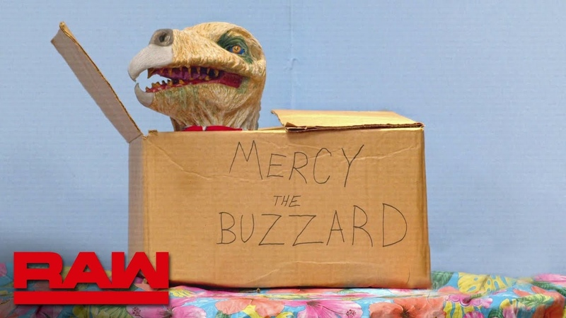 """Mercy the Buzzard has a disturbing meal on Firefly Fun House"""" Raw May 6 2019"""