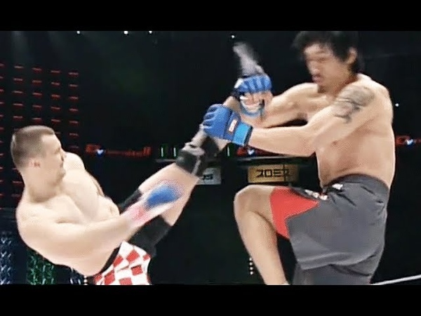 When Giants in MMA Lost Control Compilation!