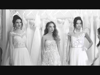 Показ платьев в свадебном салоне mary jane