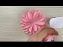 Видео урок 007 Георгина - Оригами