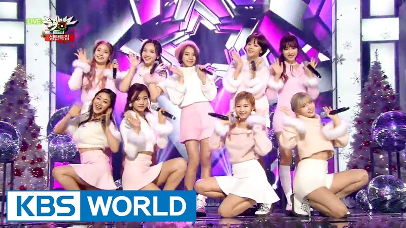 TWICE - Yayaya | 트와이스 - 야야야 [Music Bank Christmas Special / 2015.12.25]