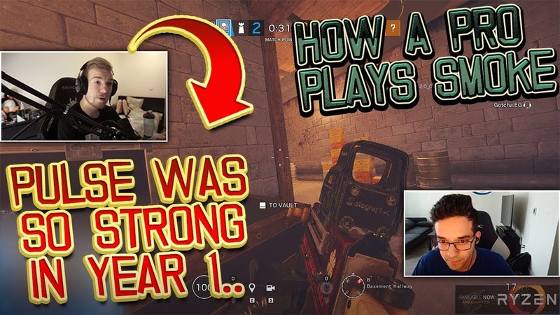 Pengu Talks About New Pulse Buff How Pros Play Smoke Rainbow Six Siege Highlights 251