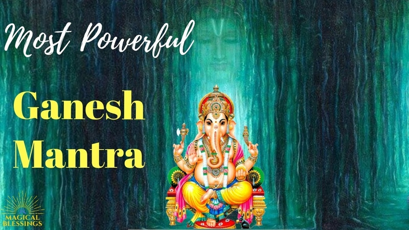 Powerful Ganesh Mantra to remove all obstacles and get success in life| Magical Blessings