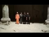 Духовные песнопения в пещерном храме. Гегард, Армения
