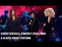 Karen Fairchild, Kimberly Schalpman Gladys Knight Perform 2018 Artists of the Year Performance