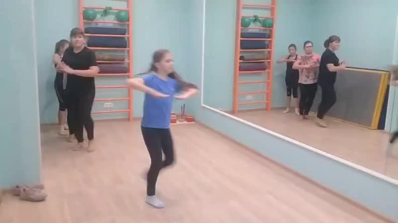 Разминка по совр хореографии 8 12 лет в рамках ДОД