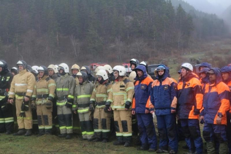 Крупные учения МЧС прошли в Зеленчукском районе