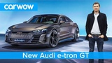 NEW Audi e-tron GT - is this EV a Tesla Model S beater