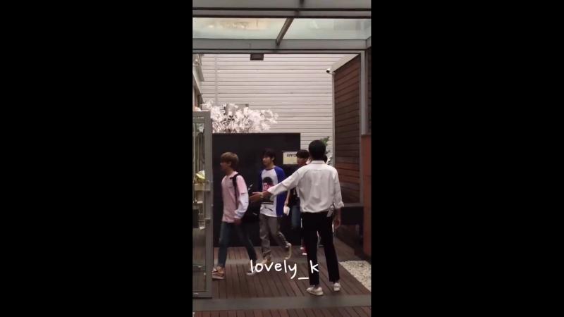 FANCAM | 19.09.18| Chan @ Before UNB Burger King fanmeeting