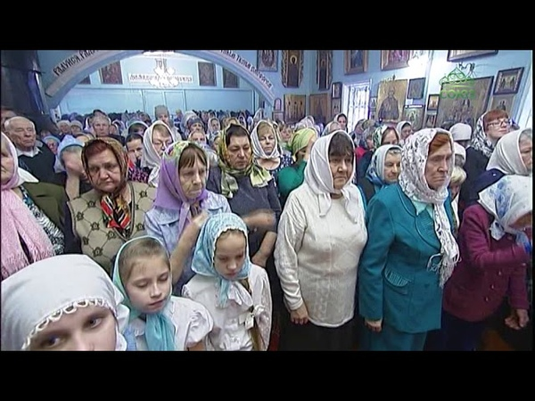 Введенская церковь поселка Пристань отметила престольный праздник