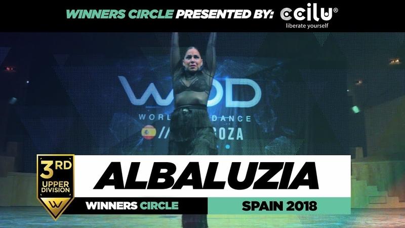 ALBALUZIA 3rd Place Upper Winners Circle World of Dance Spain Qualifiers 2018 WODSpain18 смотреть онлайн без регистрации