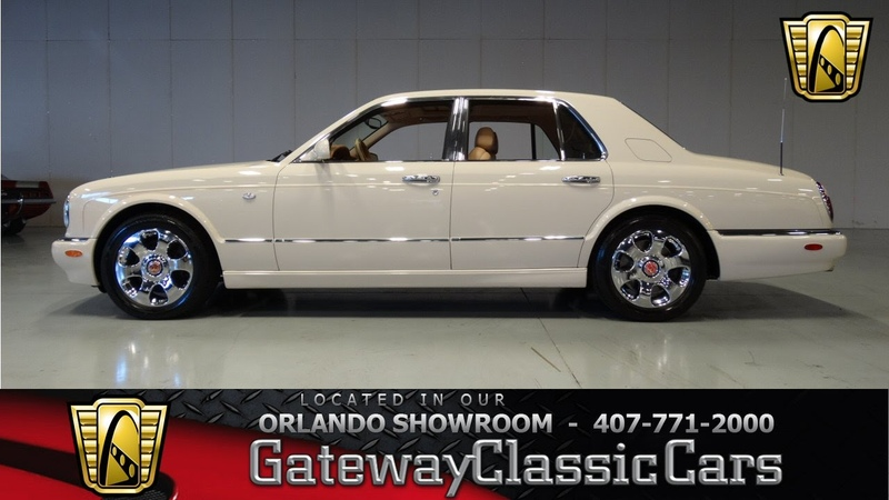 2001 Bentley Arnage Gateway Classic Cars Orlando