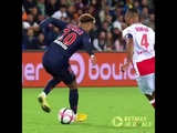Neymar amazing dribbling skill Psg vs Reims (4-1) (27-09-2018)