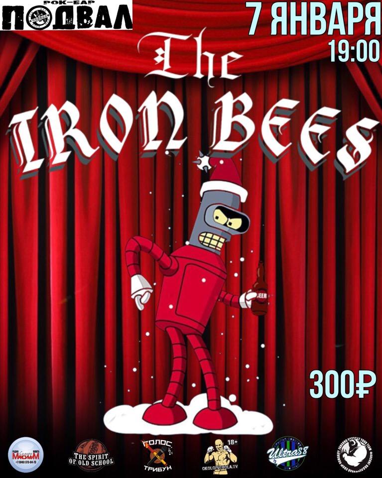 Афиша В Рождество на IRON BEES!/7.01/Подвал