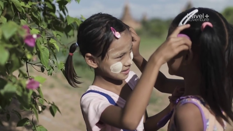 Дорога в школу Бирма Сан и Ниу