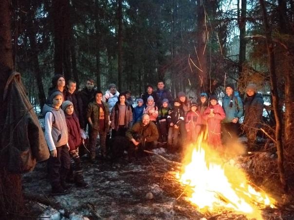 129 отряд разведчиков преподобного Макария Желтоводского и Унженского совершил выход в лес
